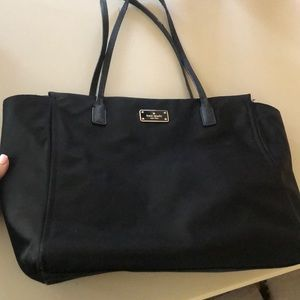 Kate Spade Nylon Black Purse